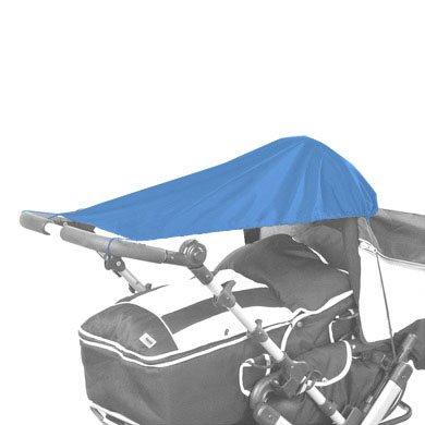 160260 UV Sonnensegel für Kinderwagen, Baby Sonnenschutz, hellblau