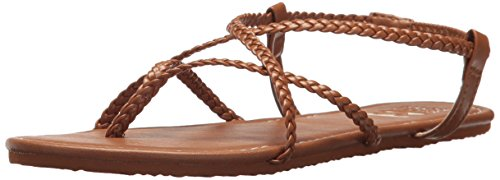 Billabong Women's Crossing Over 2 Flat Sandal, Desert Daze, 10 M US