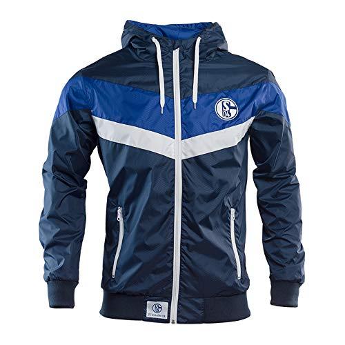 Schalke 04 Windbreaker Wind-Jacke (2XL)