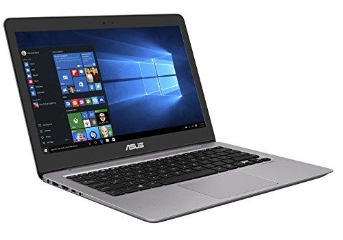Asus Zenbook UX310UA-FC338T 33,7 cm (13,3 Zoll FHD matt) Laptop (Intel Core i7-7500U, 8GB RAM, 512GB SSD, Intel HD Graphics, Win 10) grau