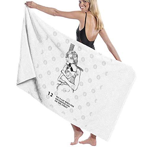 U/K Dr Jordan B Peterson – Regla # 12 – Toalla de baño para mascotas cuando encuentras uno en la calle, toalla de secado rápido