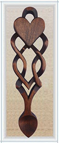 Good Luck Together Love Spoon - Free Engraving of Names & Date