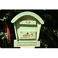 Hbk Rd Moss New Letter Letterbox Wooden Decoration