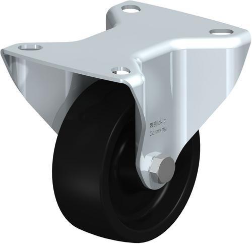 Rueda fija Blickle B-PHN 81G, diámetro de rueda de 3,15 cm, 220 lb. Capacidad de carga