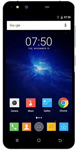 Zopo Flash G5 Plus - Smartphone de 5.5'' (Octa-Core, RAM de 2 GB, Memoria Interna de 16 GB, Android 6.0) Color Negro y Azul