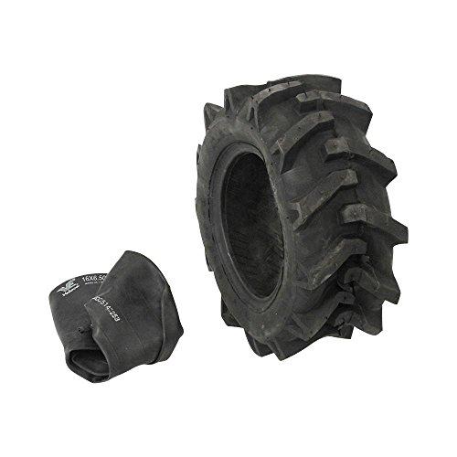 1x Reifen 16x6.5-8 plus Schlauch für Rasentraktor Stollenreifen neu