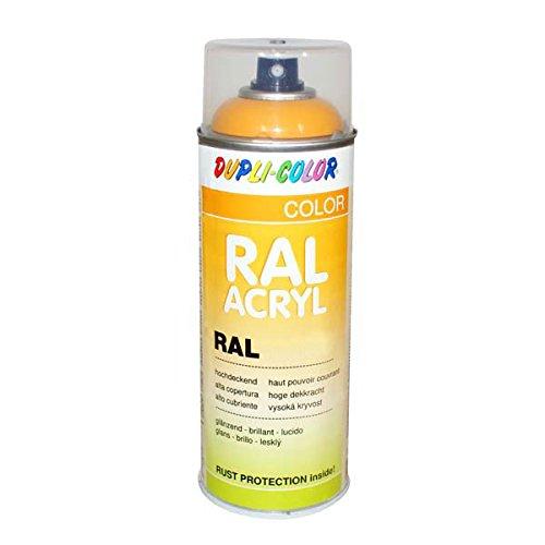 Dupli-Color 349522 RAL-Acryl-Spray 1021, 400 ml, Rapsgelb Glanz