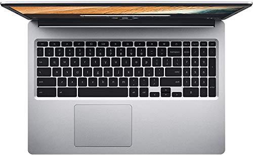 Product Image 1: 2021 Premium Acer Chromebook 15.6″ HD Laptop Light Computer, Intel Celeron N4000, 4GB RAM, 32GB eMMC, HD Webcam, Intel UHD Graphics 600, 12+ hours Battey, Sleeve, Bluetooth, Chrome OS,w/Marxsol Cables