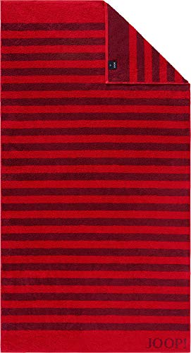Joop! Duschtuch Classic Stripes 1610   24 Rubin - 80/150