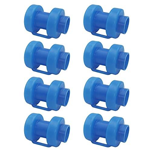 Cap de polo de trampolín 8pcs Caja de trampolín CAPOS POSTOS Tapa de trampolín universal de trampolín, aproximadamente 25 mm / 0.98 pulgadas de diámetro en espesado y duradero para el suministro