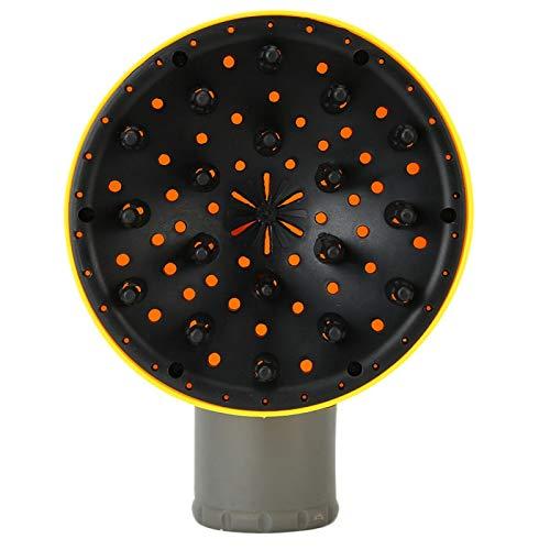 Difusor de secador de pelo para PC de 15,5 cm, difusor de secador de pelo, difusor de pelo para secador de pelo, difusor de pelo para secador de pelo, difusor de pelo ondulado(yellow)