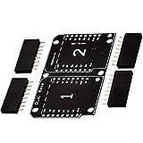 AZDelivery Dual Base Shield PCB Board Placa Base Doble para D1 Mini NodeMCU ESP8266 con E-Book incluido!