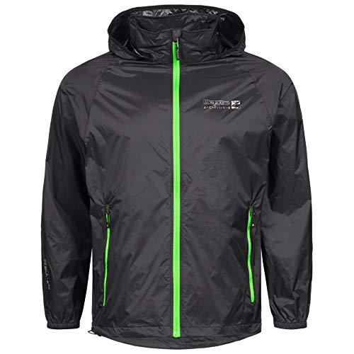 Outdoor Jacke und Regenjacke Deproc Robson Farbe Black, Größe M
