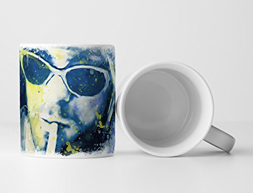 Kurt Cobain I Tasse als Geschenk, Design Sinus Art