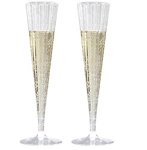 La mejor comparación de Copas de champán trompeta los preferidos por los clientes. 8