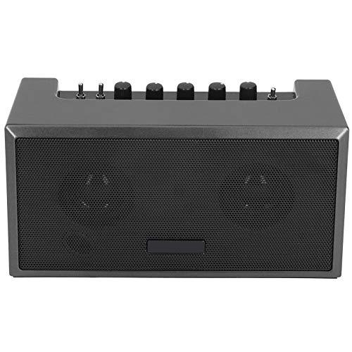 Amplificador de guitarra eléctrica recargable de 8W 100-240V, Mini altavoz de guitarra...