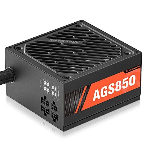 ARESGAME 850W Alimentatore PC, Semi-modulare, 80 Plus (AGS850)