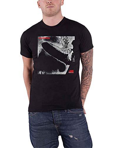 LED Zeppelin 'I Remastered Cover' (Black) T-Shirt (Large)