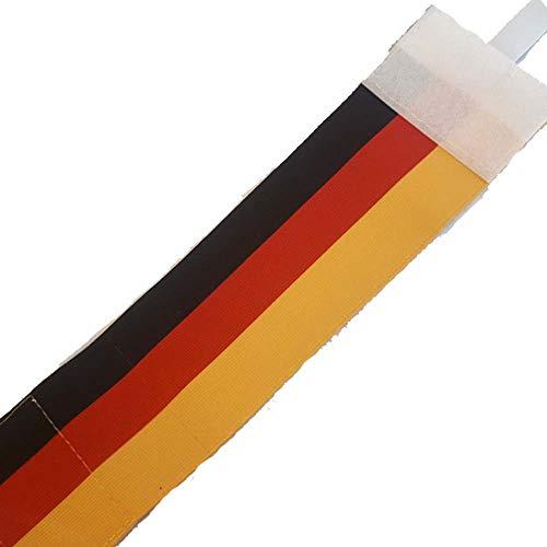 DE TOO+ Bal Brazalete de Capitán, Hombres, Bandera Alemania, 31X8