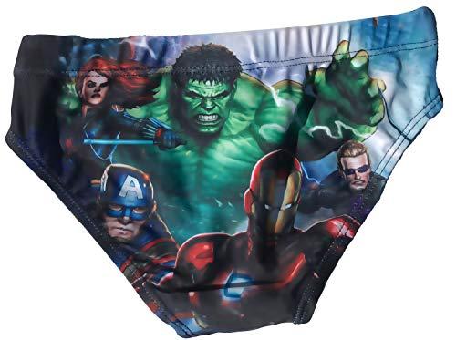 Coole-Fun-T-Shirts Avengers jongens zwembroek 104 116 128 140 rood en blauw 4 6 8 10 jaar