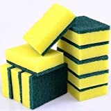 NinjaClean 10 Multi-Purpose Kitchen Scrubber and Scourer with One Side Absorbent Sponge and Other Side Scouring Pad