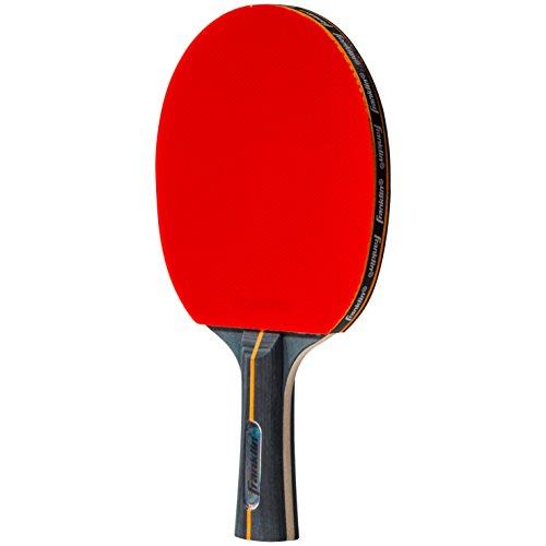 Franklin Sports Conjunto de pá de tênis de mesa – Tamanho oficial de borracha Ping Pong Paddle – Núcleo de carbono profissional – 1 remo