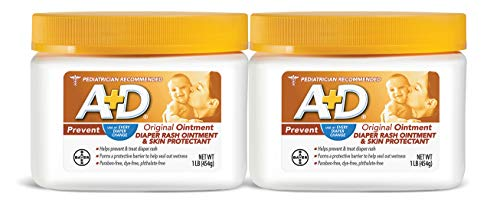 AD Original Diaper Rash Ointment 1 Pound Jar Pack of 2