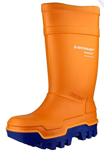 DUNLOP Gummistiefel Thermo-Plus 43, orange