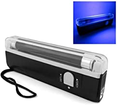 Mini 16cm UV Blacklight met Zaklamp