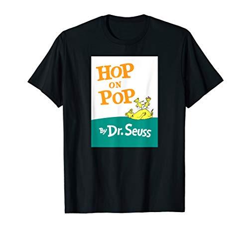 Dr. Seuss Hop On Pop Book Cover T-shirt