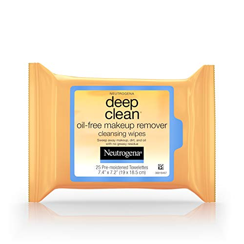 Neutrogena deep clean oil free makeup removing wipes - 25/pack (Makeup Entferner)