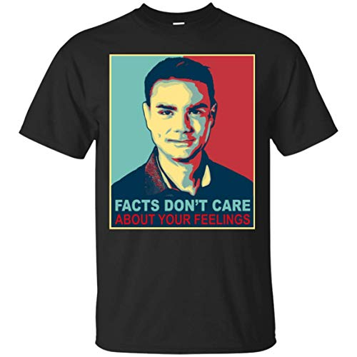 Facts Dont Care About Your Feelings Vintage Ben Shapiro Campaign T-Shirt Black