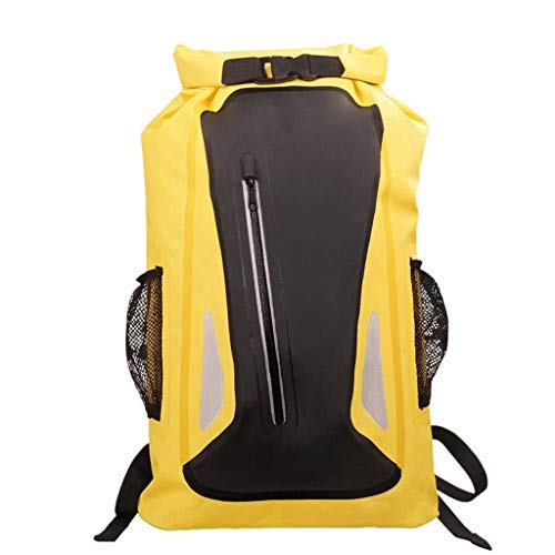 GFDFD Sac à Dos léger et Compact - Durable résistant à l'eau Voyage Randonnée Camping Outdoor Daypack pour Femmes (Color : Yellow)