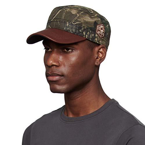 CACUSS Herren Army Cap fidel Castro mütze Damen militär mütze Cuba Cap Outdoor Baseball caps Sommer Armee caps braun