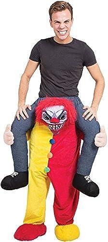 Erwachsene Herren Damen Schritt darauf Reiten Horror Clown Halloween unheimlich TV Buch Film Film Kostüm Kleid Outfit