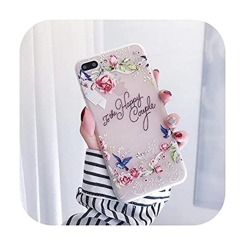 Schutzhülle für iPhone 11 Pro 6S 6 7 8 Plus X XS Max xr Silikon Soft Blume Back Cover Case für iPhone SE 2020 5S 5 Für iPhone 11Max