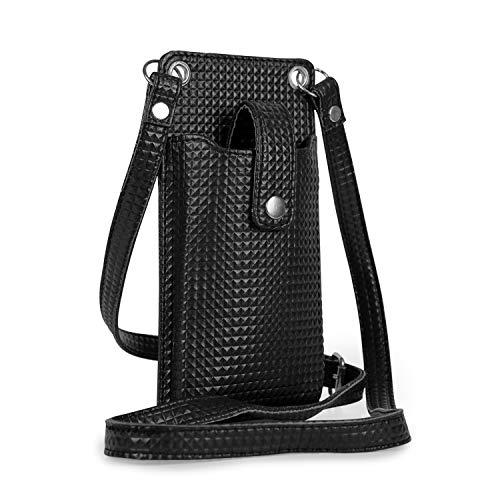Goatter Girls And Women Mobile Sling Bag Black [Got-Pu-2]