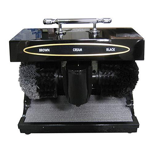 Unbekannt Chun Li Schuhcreme, vollautomatische Infrarotsensor tragbare Haushaltskammbürste Schuhcreme, in 2 Farben Schuhbürsten (Color : Black, Size : 37x21x29cm)
