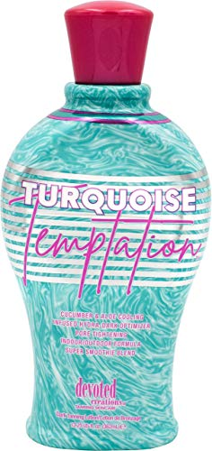 Devoted Creations Turquoise Temptation Indoor and Outdoor Tanning Lotion 12.25 oz