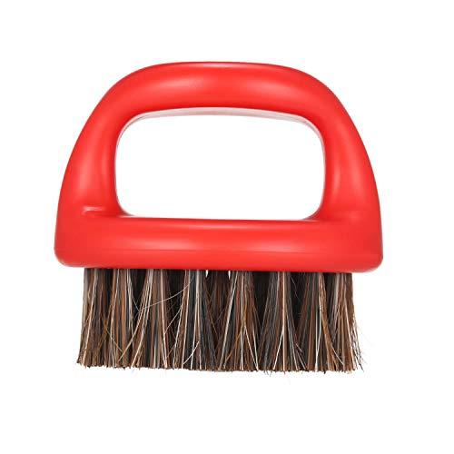 Men's Beard Brush Anself Barber Neck Face Duster Brush Hair Sweeping Brush Mustache Shaving Brush for Hairdressing Salon Household