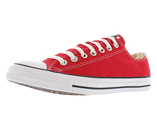 Converse M9696: Low Top Chuck Taylor All Star Red Retro Classic Sneakers