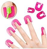 Rosalind de uñas plantilla reutilizable uñas borde piel Barrera...