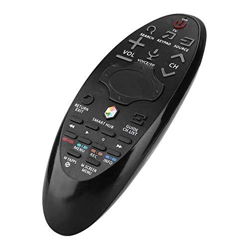 Yuyanshop Mando a distancia universal 2 en 1 para Samsung (RBN59-01185F/BN59-01185D/BN94-07469A, etc.), control remoto portátil para LG LCD TV, color negro