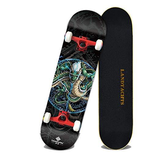 NENGGE Finger Skateboard, Professioneel Skateboard, Snelle Mute Ab Ec-9 Lager, Gewichtsdrager 500Kg, Beginners En Professionals