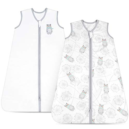 TILLYOU Large Breathable Cotton Baby Wearable Blanket