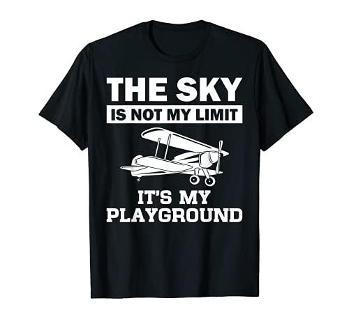 Funny Airplane Aviation Pilot Aircraft Aeroplane Men Women T-Shirt