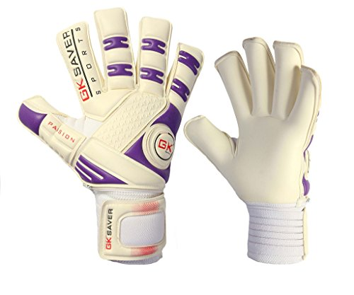 GK Saver Unisex Youth Passion Ps02 Rollfinger Torwarthandschuhe, YES Finger Protection NO Personalization, 11 Adult