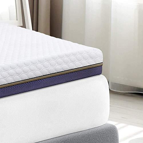 BedStory Surmatelas 140 x 190cm, Épaisseur 7,6cm,...