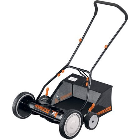 Remington RM3100 18-Inch Reel Push Mower /Includes bagger