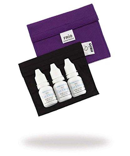 FRIO Kühltasche für Insulin, 14 x 12cm, lila - KEIN Eispack oder Batterien nötig, für eine Kombinationen von Ampullen oder Patronen, KEIN Pen
